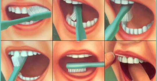 Pasii periajului dentar corect !